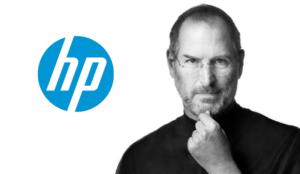 Steve Jobs y HP